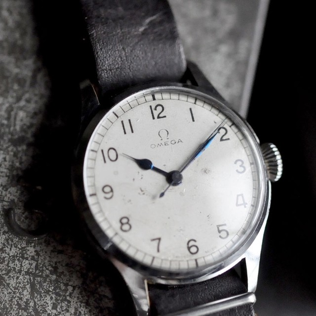 40's -OMEGA- Royal Navy WWⅡ pilots watch