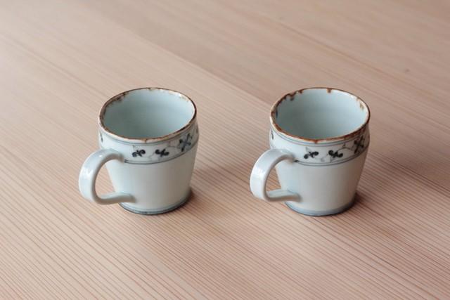 マグカップ(花紋唐草)村山朋子