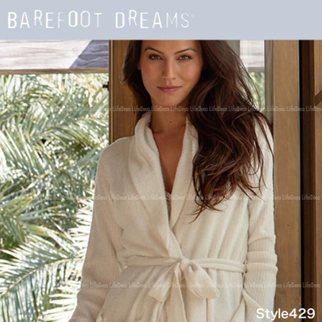 Barefoot Dreams ベアフットドリームス BambooChic Lite バンブーチック ライト ヘザー ショート リブ ローブ レディース