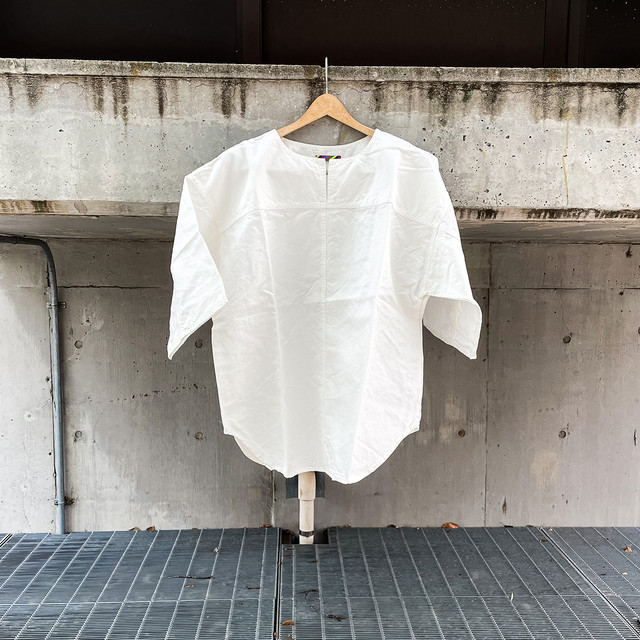 FRENCH LINEN PANEL T-SHIRT
