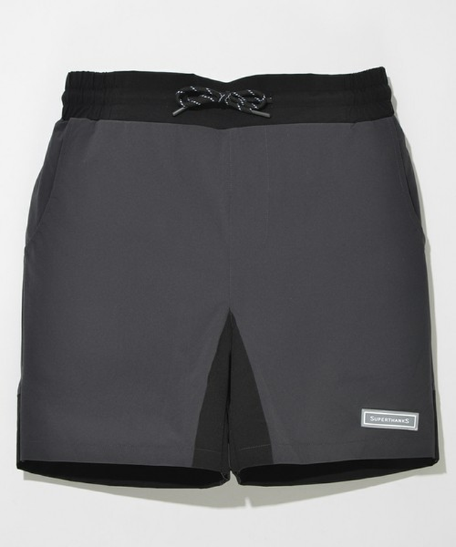 SUPER THANKS(SILICON LOGO NYLON SHORT PANTS)