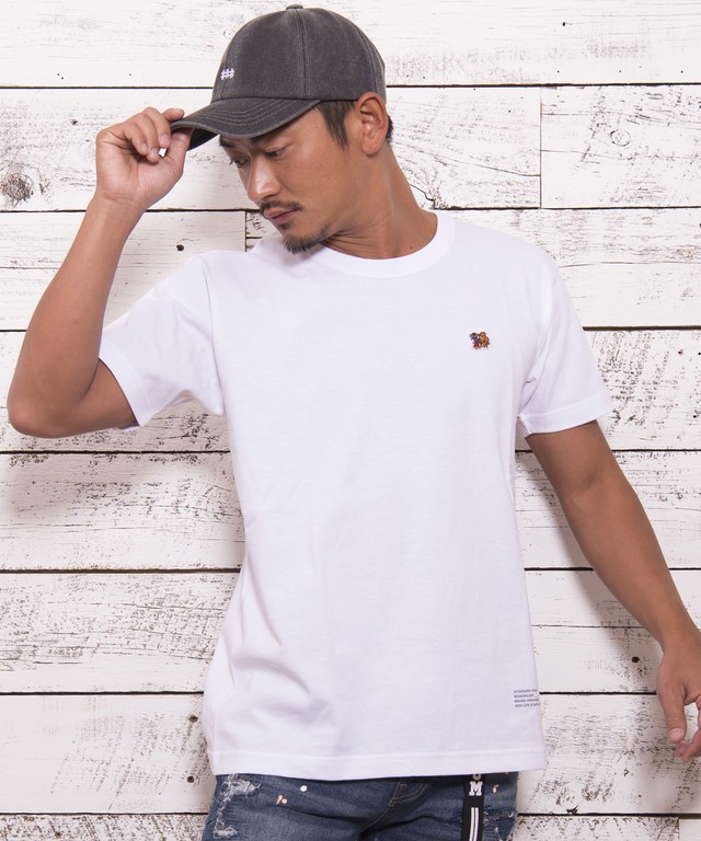 "ONE POINT BASIC T-shirts ""Tiger""[REC172]"