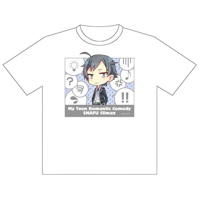 【4589839354110在.】やはり俺の青春ラブコメはまちがっている。完 八幡 ドライメッシュTシャツ/Lサイズ