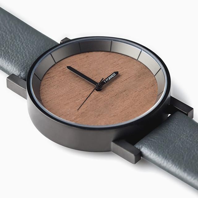 森の腕時計(Gun Walnut)