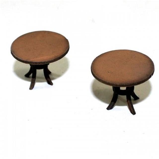 【予約発注】 Round Tables 28S-FAB-041L
