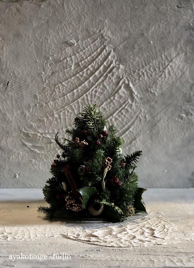 1Day 2018年東京11月29日クリスマスツリーアレンジメントを描くレッスン申し込み