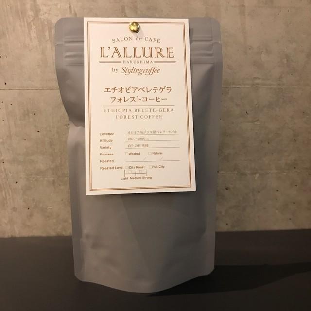 フォレストコーヒーエチオピアベレテゲラ・サバカ 100g (豆・粉)