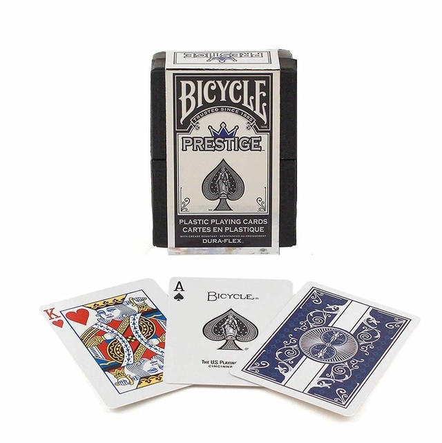 Bicycle Prestige dura-flex Playing Cards