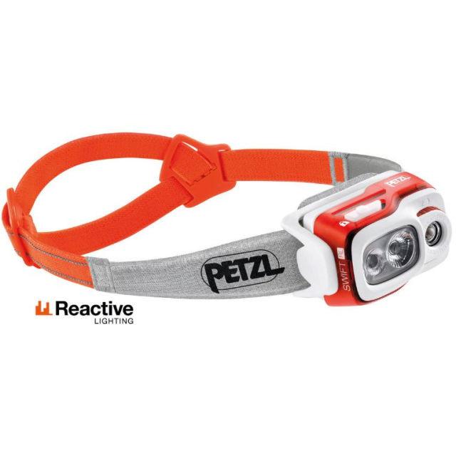 【petzl】 SWIFT RL Headlight(Orange)