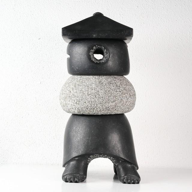 田中毅 / 石彫24 亀灯籠