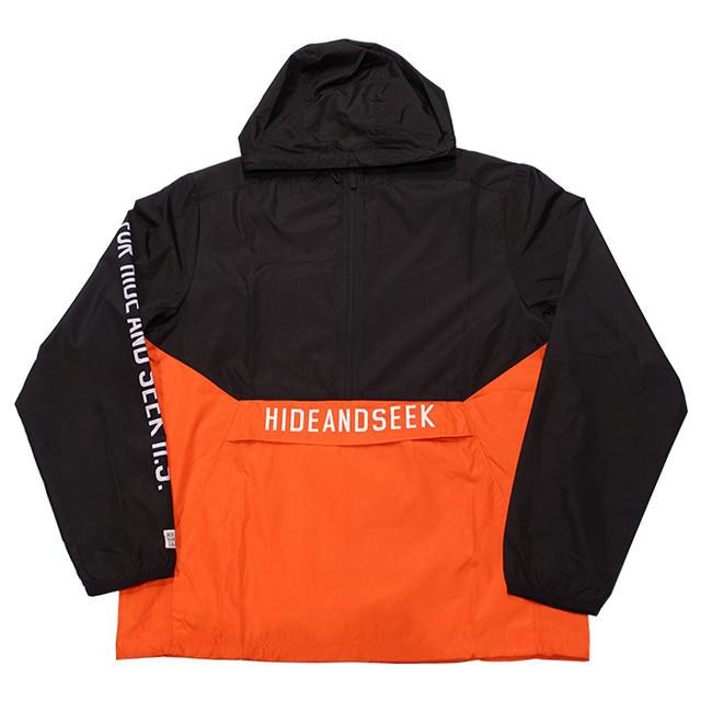 HIDEANDSEEK(ハイドアンドシーク) / NYLON ANORAK JACKET(HJ-010221)(アノラックジャケット)
