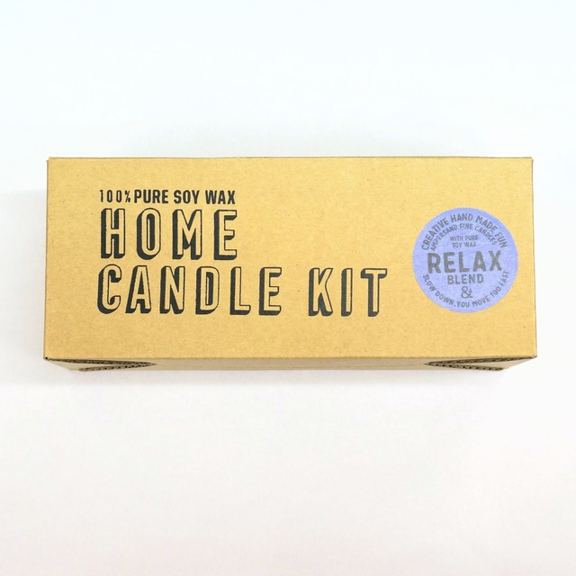 Home Candle Kit-RELAX- キャンドル Candles - メイン画像
