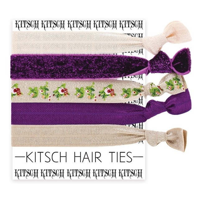 KITSCH(キッチュ) LIMITED HAIR TIES ワイルドローゼズ WILD ROSES