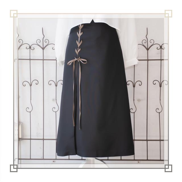 スリットロングスカート(ブラック)