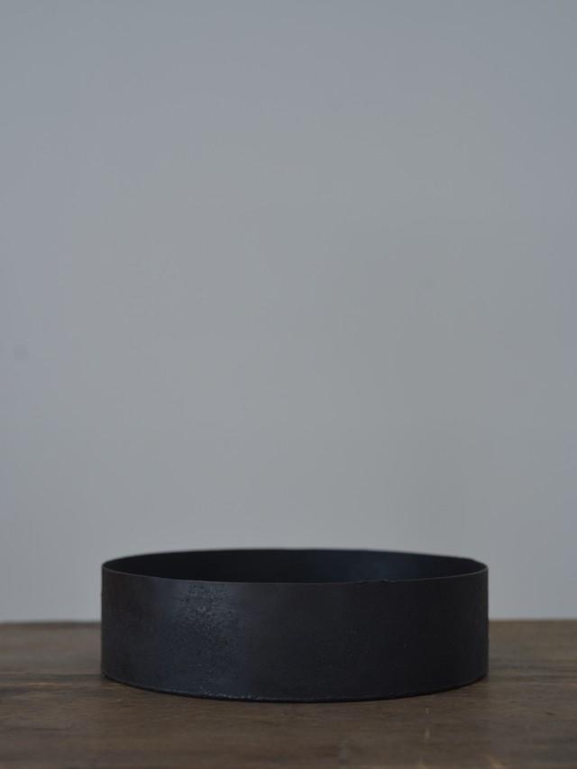 大山求 黒錆茶盤L