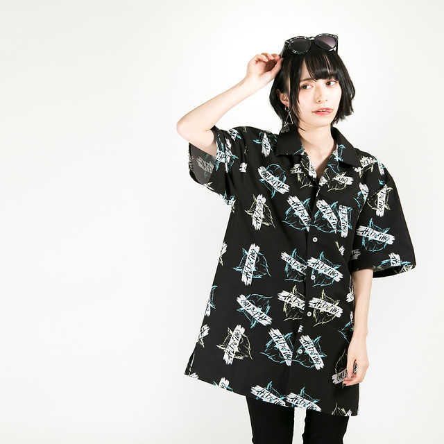 Owl Totalhandle Shirt Black