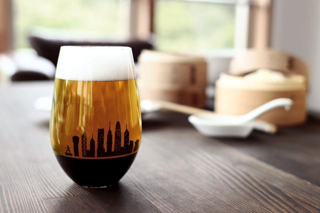夕日を眺めるグラス 〜 香港 〜       *丸モ高木陶器* お酒をより楽しむためのおしゃれな酒器!