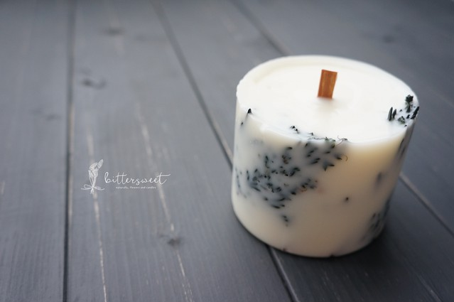 Botanical candle    no.005