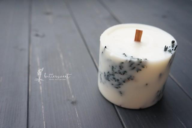 Botanical candle    no.005