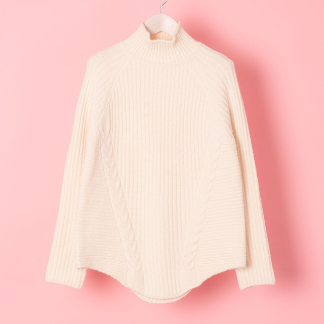 HI-NECK RIB KNIT (VN1711015)