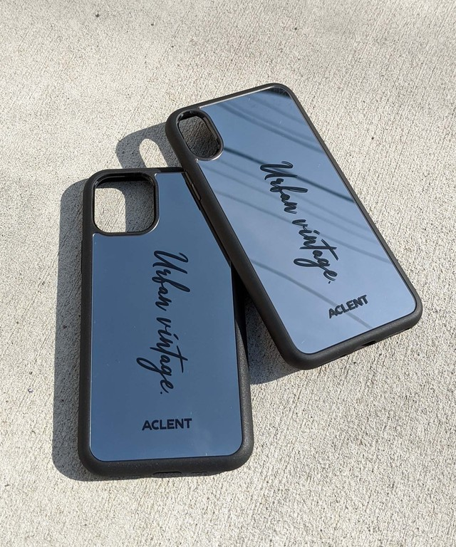 Mirror logo iPhone case