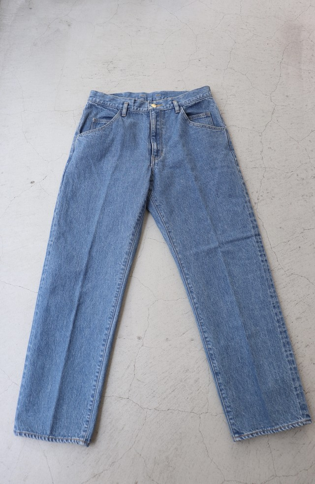 ippei takei 【イッペイタケイ】serge denim   fade blue