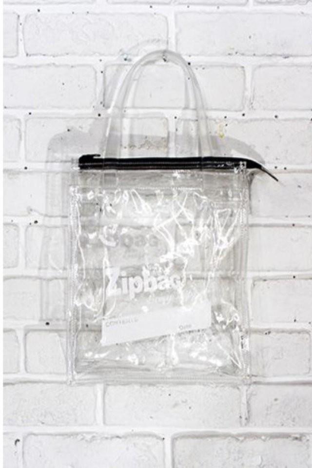 Zip Bag | ジップ バッグ ビニールバッグ クリアバッグ (Aquvii アクビ)