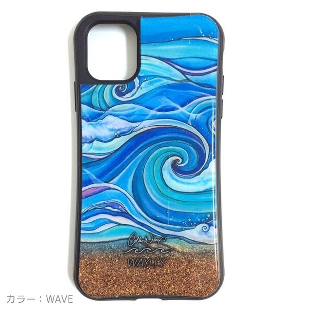 【数量限定】Colleen  Wilcox  iPhoneケース WAYLLYコラボ(着せ替え可能)  iphone11 Promax
