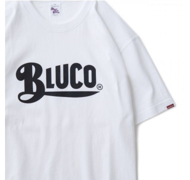 BLUCO  OL-805-018 SUPER HEAVY WEIGHT TEE'S-Logo-