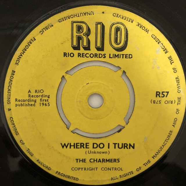 The Charmers ‎- Where Do I Turn【7-20483】
