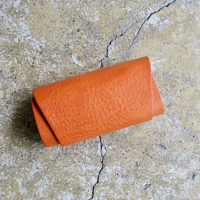 「KEY CASE Camel」 Italy Leather