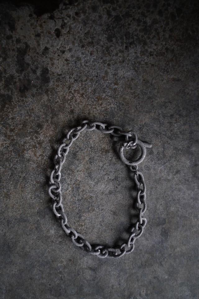 Addiction  chain  bracelet iron 加工 gry