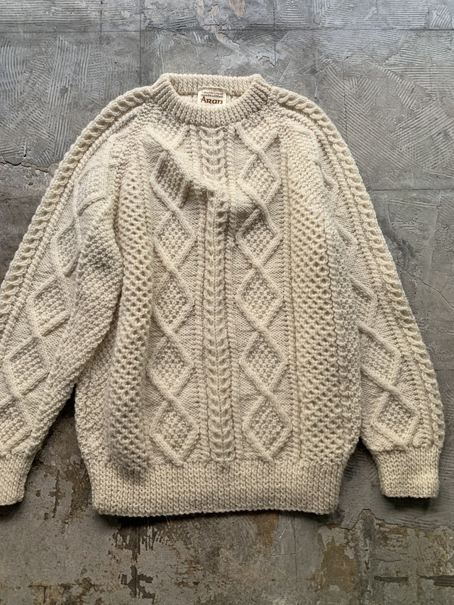 made in SCOTLAND vintage pure wool knit