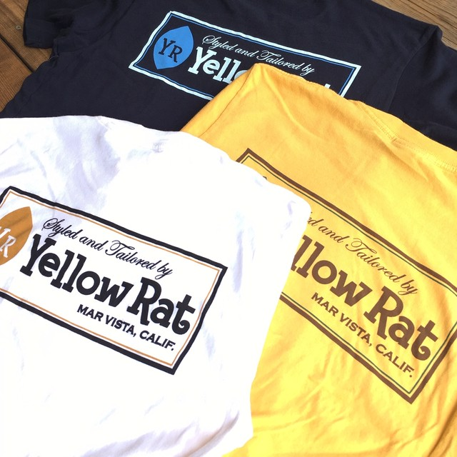 "Yellow Rat ""YR Classic Box"" S/S Tee"