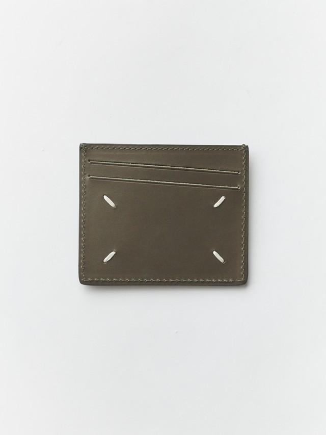 MAISON MARGIELA Card Holder(P2868)  Military Green S35UI0432