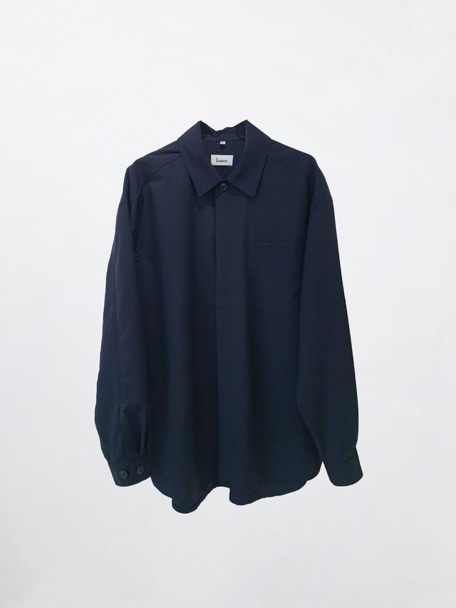 Lownn Minimal Shirt ML Navy Blue SS21-MINIMALSML-834.651-5500