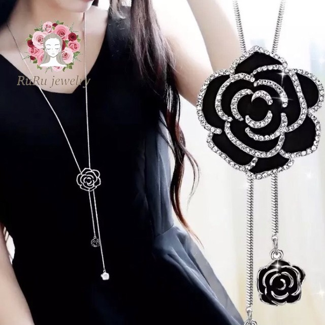 Rose long chain(necklace)
