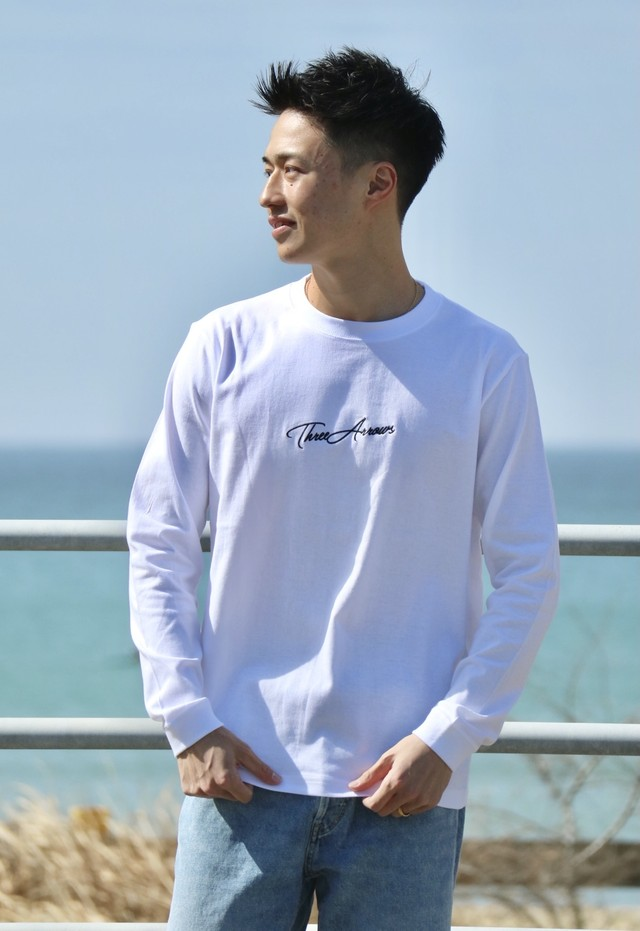 ThreeArrows L/S TEE (black)