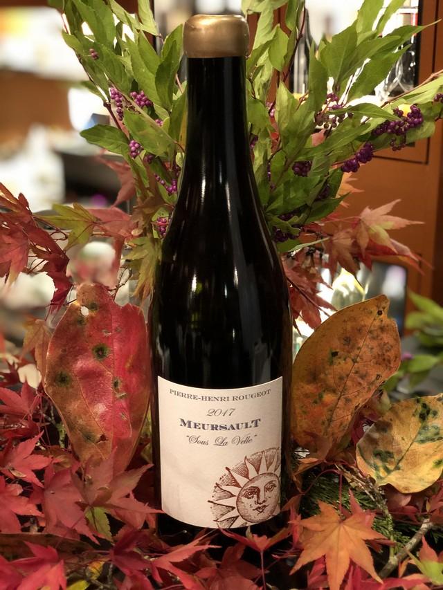 2017年 ムルソー スー ラ ヴェル Pierre Henri Rougeot 白ワイン