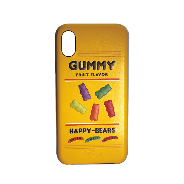 Embossing Case iPhoneX/Xs - Happy gummy