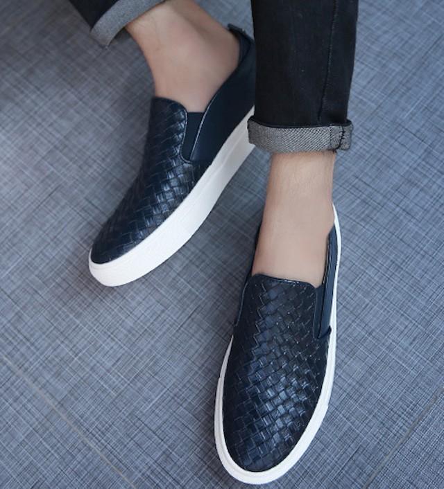 ローファー 革靴 ビジネスシューズ メンズ 革 レザー スリッポン スリッパ ウォーshs-650
