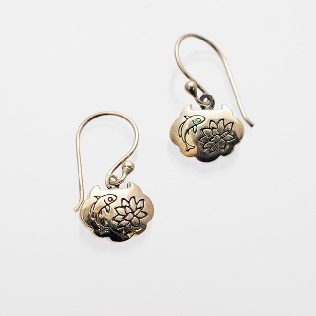ピアス ロータス04 Pierced Earrings Lotus04