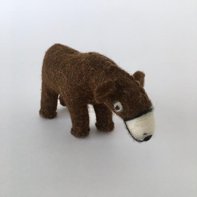 Wool Felt Bear|羊毛フェルトのクマ