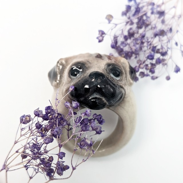 【Nach】 Pug ring