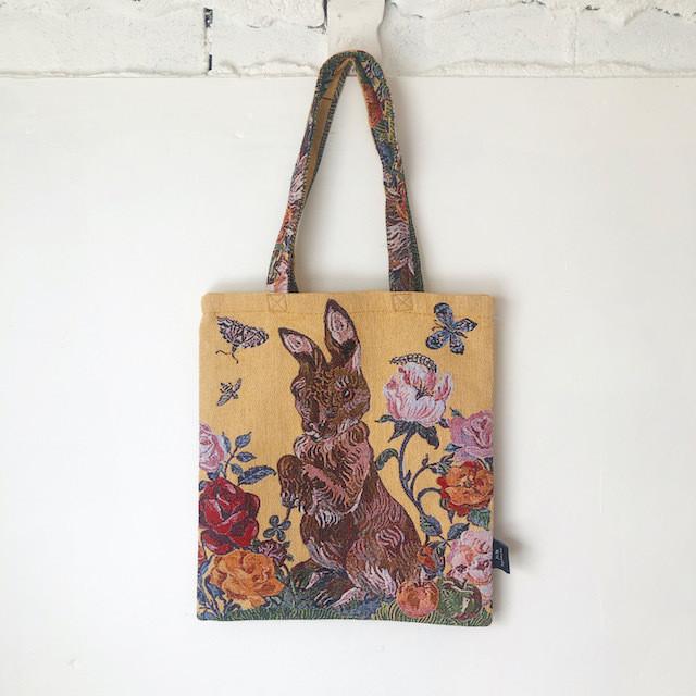 Nathalie Lete Animal Bag Rabbit ナタリーレテ ゴブラン織トートバッグ