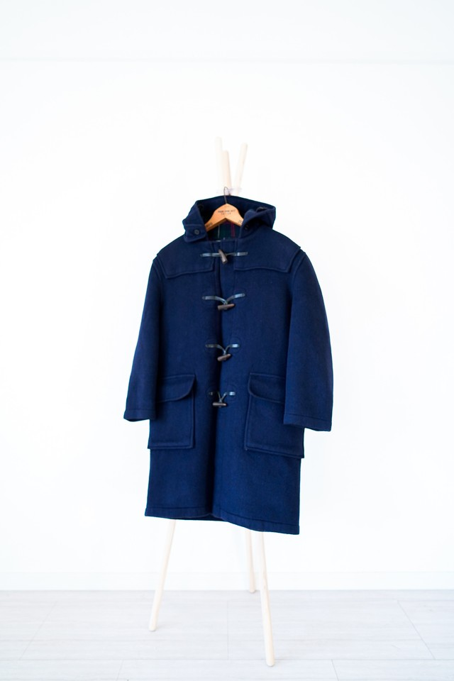 "【1990s】""Gloverall"" Wool Duffle Coat / v413"