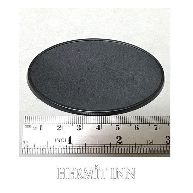 75x46ミリ プラ製楕円ベース(2枚) - メイン画像