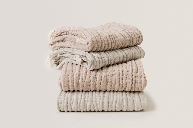 garbo&firends/Mellow Tawny Blanket M size