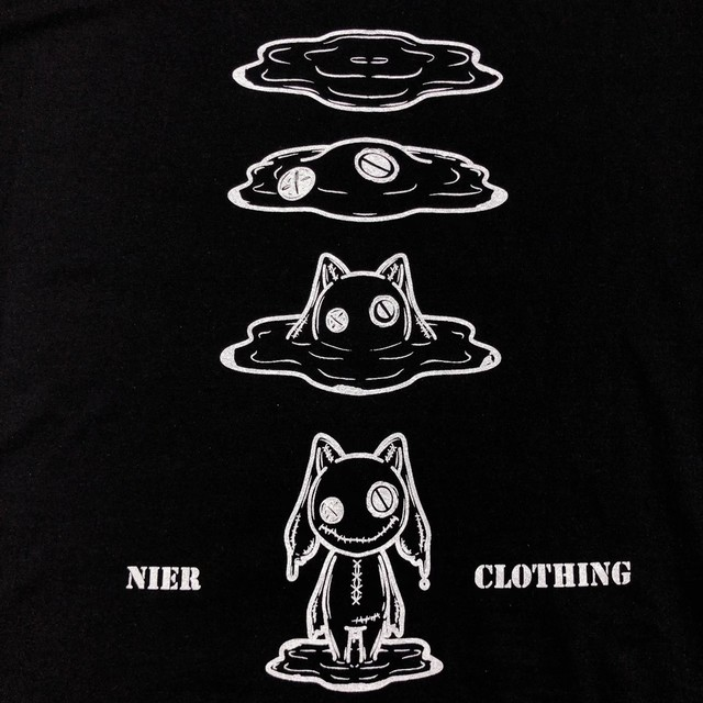 BLACK COTTON CUTSEW【MELT NieR】