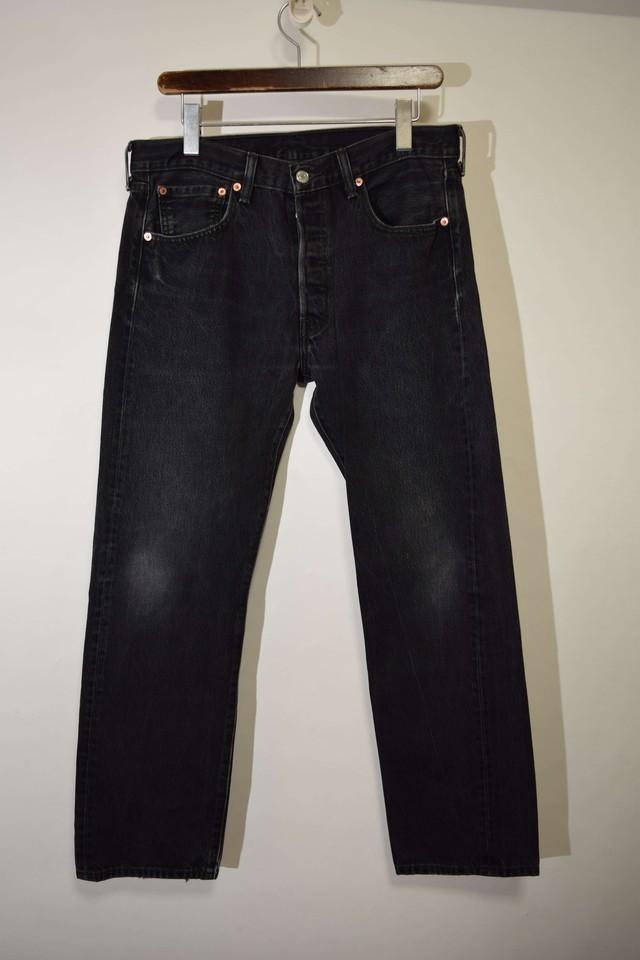 LEVIS リーバイス501 33×30 デニムパンツ BLACK ブラック 400611190708